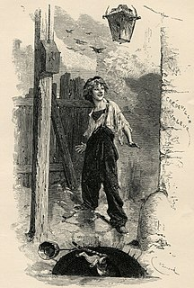 fictional street child from Les Misérables