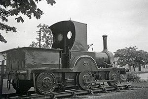 Bordon and Longmoor Military Camps - 0-4-2 steam engine Gazelle at Longmoor Camp, 28 June 1964