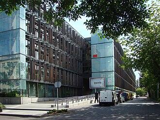 Gazeta Wyborcza - Gazeta Wyborcza head office in Warsaw, Czerska Street