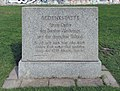 Gedenkstein Bernauer Str ggü 116 (Mitte) Kriegsopfer Teilung.jpg