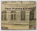 Gedenktafel Tassostr 21 Werner Klemke.JPG