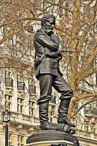 Thames Ditton Foundry - Image: General Charles George Gordon statue, Embankment, London (2)