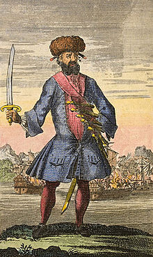 General History of the Robberies and Murders of the Most Notorious Pyrates - Blackbeard the Pirate.jpg