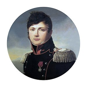 Jean Baptiste Antoine Marcellin de Marbot - Marbot as colonel of the 23rd chasseurs in 1812