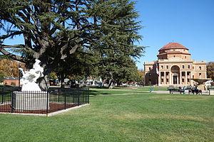 Atascadero, California - City Hall and Sunken Gardens, Atascadero