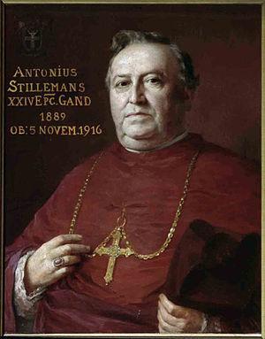 Antoon Stillemans - Image: Gent, sint Baafskathedraal Stillemans B STB 596