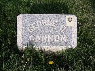 George Q. Cannon - George Q. Cannon's headstone.