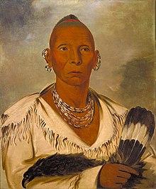 George Catlin - Múk-a-tah-mish-o-káh-kaik, Black Hawk, Prominent Sac Chief - 1985.66.2 - Smithsonian American Art Museum.jpg