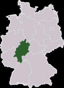 Tyskland med Hessen har markeret