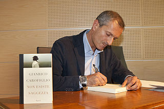 Gianrico Carofiglio Italian novelist