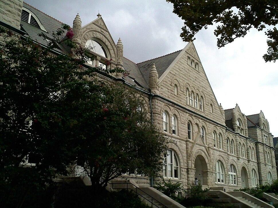 Gibson Hall angle