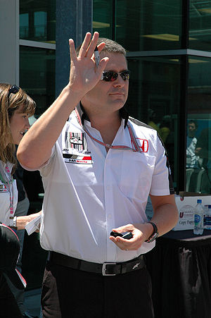 Gil de Ferran - De Ferran at the 2005 United States Grand Prix