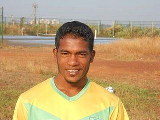 Gilbert Oliveira Indian footballer