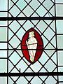 Gilocourt (60), église Saint-Martin, verrière n° 4 - personnage non identifié.JPG