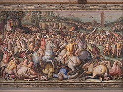 Giorgio Vasari: The rout of the Pisans at Torre San Vincenzo
