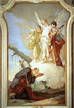 Giovanni Battista Tiepolo - The Three Angels Appearing to Abraham - WGA22244.jpg