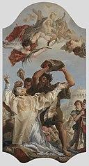 Steinigung des hl. Stephanus (Kopie von Katrin König) (Kopie nach)
