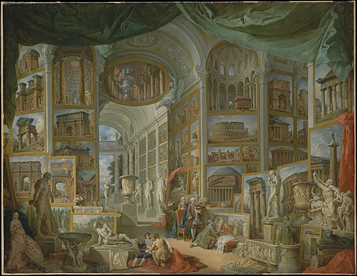 Giovanni Paolo Panini – Ancient Rome