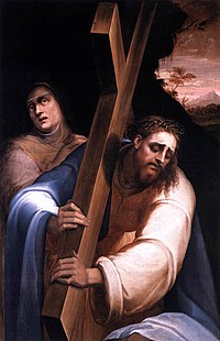 Giovanni de' Vecchi - Carrying the Cross - WGA24330.jpg
