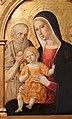 Girolamo di benvenuto, madonna col bambino e i ss. girolamo e bernardino, 1500-10 circa, da duomo di grosseto, cornice neorinascimentale 02.JPG