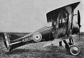 Gloster Nightjar 1921 carrier-based fighter aircraft