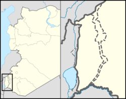 Ein Qiniya is located in the Golan Heights