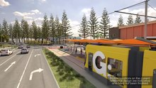File:Gold Coast Light Rail Stage 3A- detailed fly-through.webm