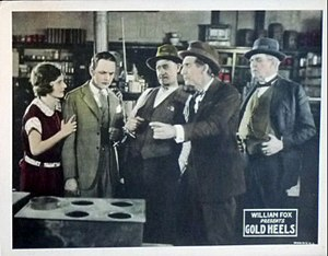 Gold Heels (film) - Lobby card