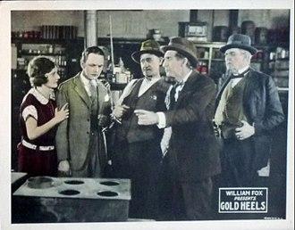 Gold Heels (film) - Lobby card
