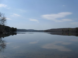 Goose Pond (New Hampshire) lake of the United States of America