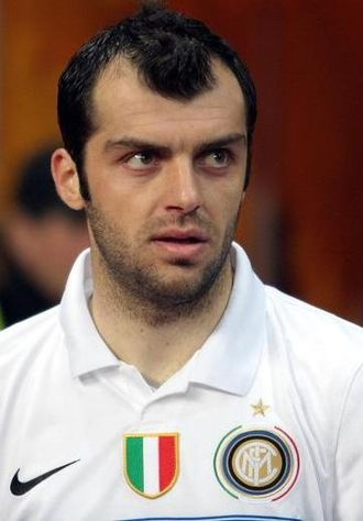 Football in the Republic of Macedonia - Goran Pandev is a five-time Macedonian player of the year who has spent most of his career in Italy