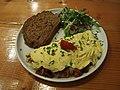 Gorgonzola + Bacon Omelette @ Omelegg @ Amsterdam (16600947341).jpg