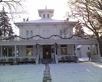 Fred M. Warner - Image: Gov Warner Mansion