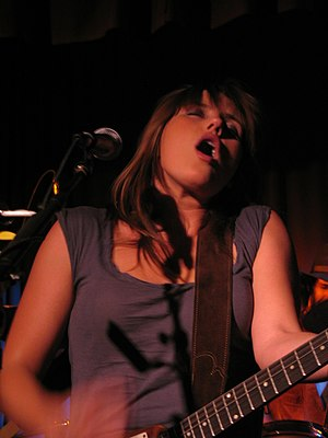 Grace Potter and the Nocturnals - Grace Potter in concert in 2007