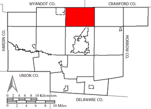Grand Prairie Township, Marion County, Ohio - Image: Grand Prairie Marion