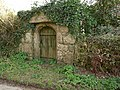 Granite gateway, Trethevey - geograph.org.uk - 1760772.jpg