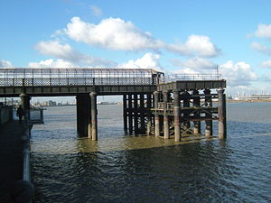 Gravesend West Line - The remains of the West Street Pier