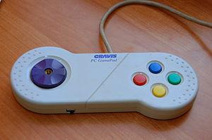 Gravis PC GamePad - Original Gravis Gamepad for the PC