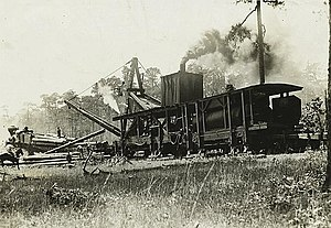 Great Southern Lumber Company - Great Southern Lumber Company Steam Skidder