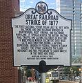 Great Railroad Strike plaque, Baltimore 01 (cropped).jpg