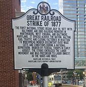 The great railroad strike essay