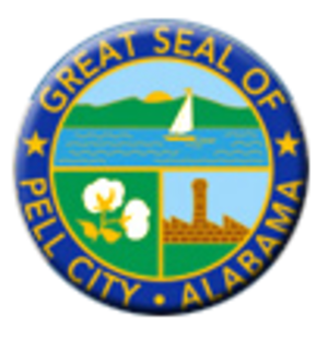 Pell City, Alabama - Image: Great Seal of Pell City