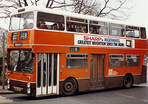 Bus doors - Image: Greater Manchester 7214