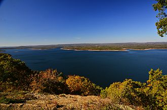 Greers Ferry Lake - Greers Ferry Lake from The Bluffs at Miller's Point