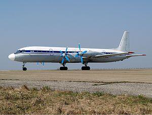 China Southwest Airlines Flight 4146 - Image: Grixona Ilyushin Il 18D Sibille 1