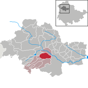 Großengottern - Image: Großengottern in UH