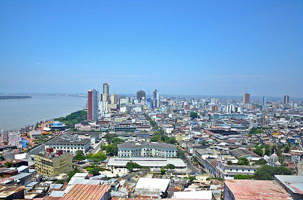 Panorama of Guayaquil, Ecuador
