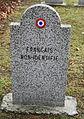 GuentherZ 2013-01-12 0359 Wien11 Zentralfriedhof Gruppe88 Soldatenfriedhof franzoesisch WK2 Francais Non-Identifie.JPG