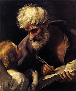 Guido Reni - St Matthew and the Angel - WGA19308