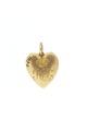Guldhjärta med Drottning Hedvig Elisabeth Charlotta initialer - Livrustkammaren - 97863.tif